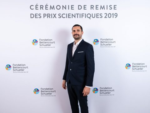 Thomas Juan, PhD student of Maximilian Fürthauer's team at iBV, winner of the Bettencourt Prize for Young Researchers 2019