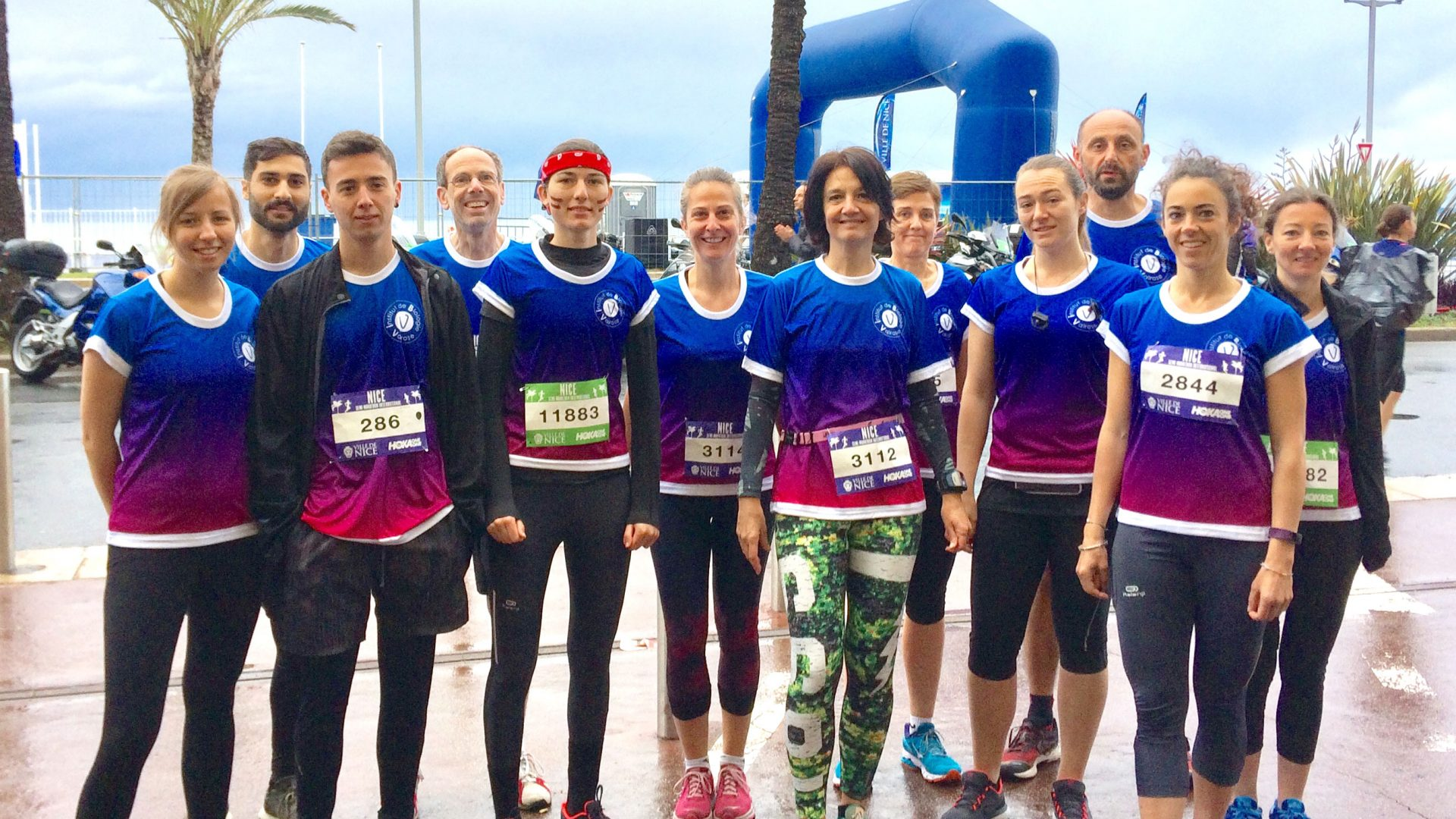 """All ends well that starts bad"": The iBV team at the 2019 Nice running days"